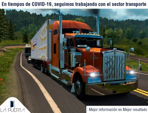 En tiempos de COVID-19 seguimos trabajando con el sector transporte